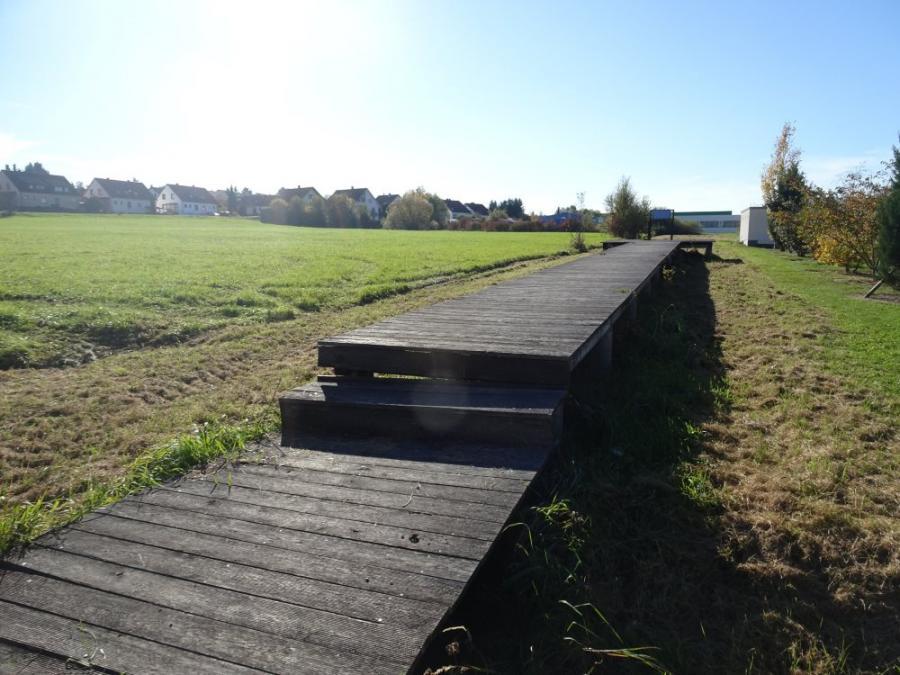 Steg und Feld Bild Silas Röhm, Jakob Wurzel (KZ Bisingen)